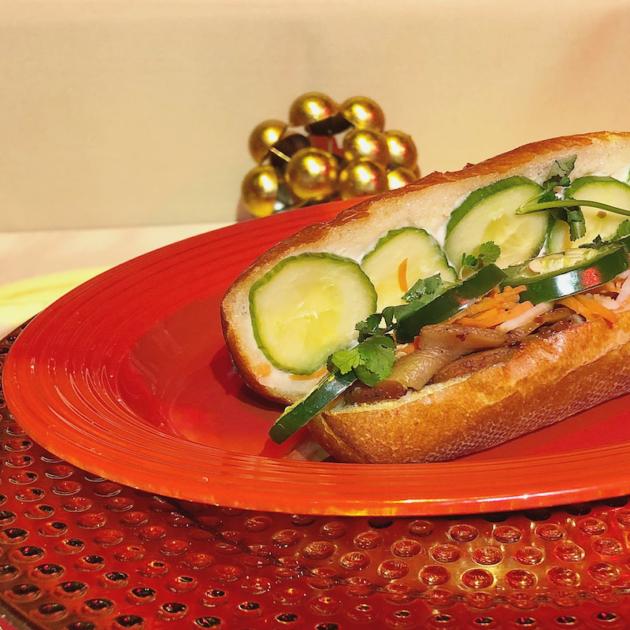 Banh Mi Pork Belly Sandwich