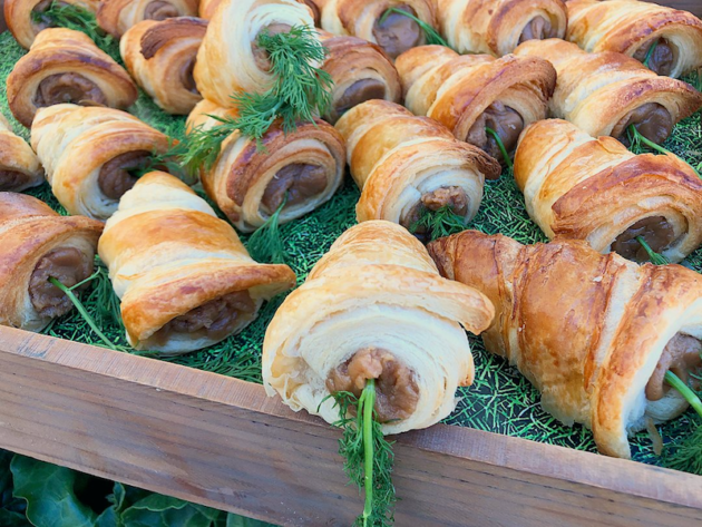 Peter Rabbit Carrot Croissant Sandwiches
