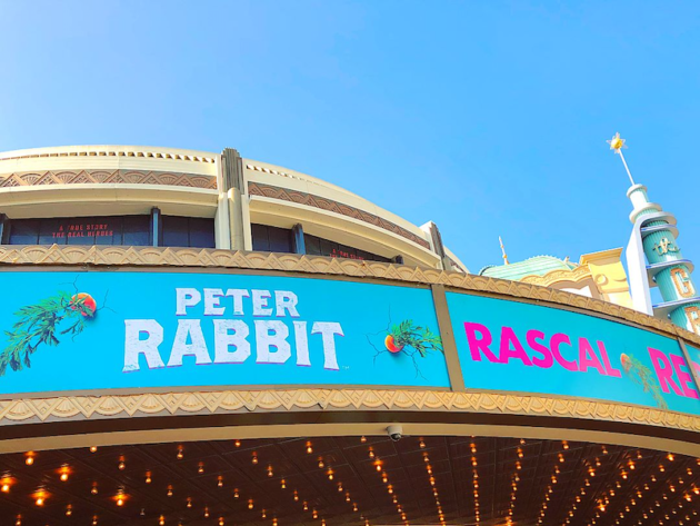 Peter Rabbit at the Grove
