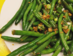 Sweet and Spicy Green Beans