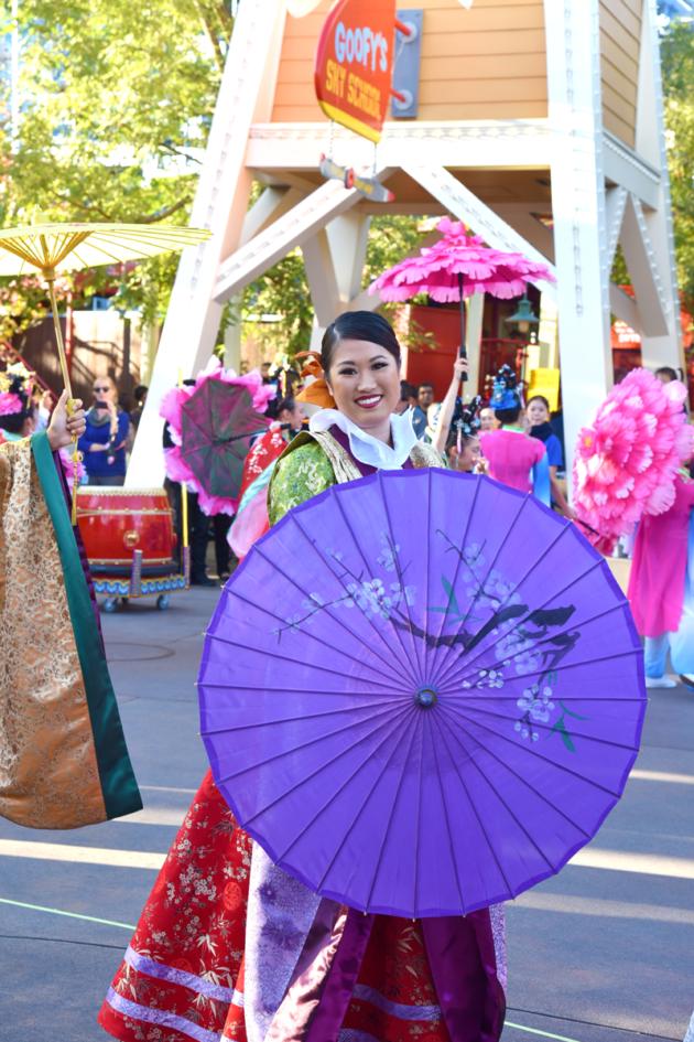 Umbrella Dancer Disneyland