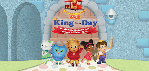 Daniel Tigers Neighborhood Live