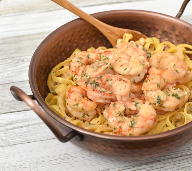 Gluten Free Garlic Shrimp Dish