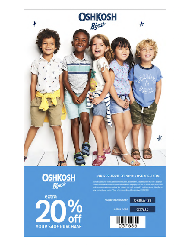 OshKosh Spring Coupon