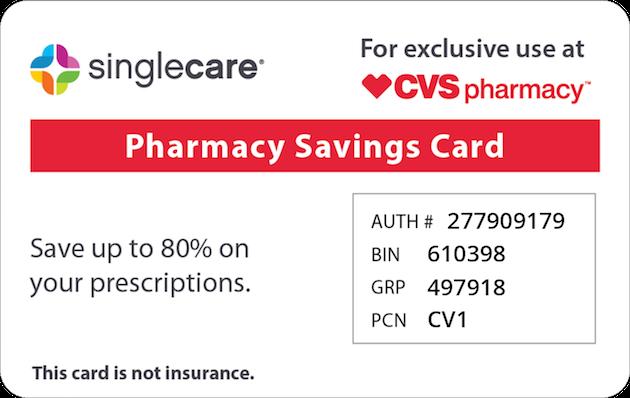 pharmacy savings card prescription savings - Singlecare Prescription Card