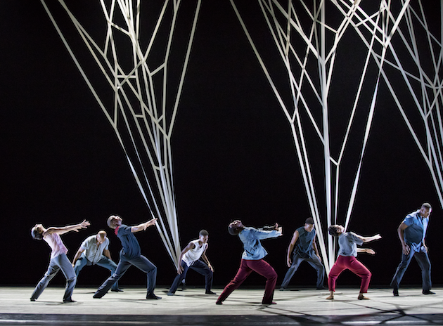 Alvin Ailey American Dance Theater in Gustavo Ramirez Sansanos Victoria