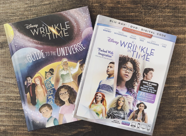 A Wrinkle In Time Book and DVD