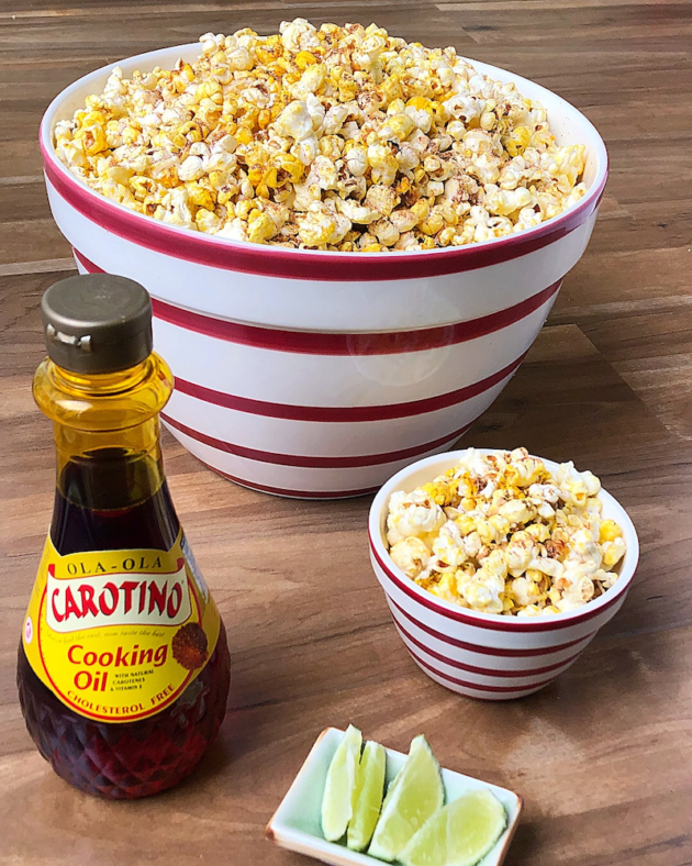 Chili Lime Popcorn Recipe