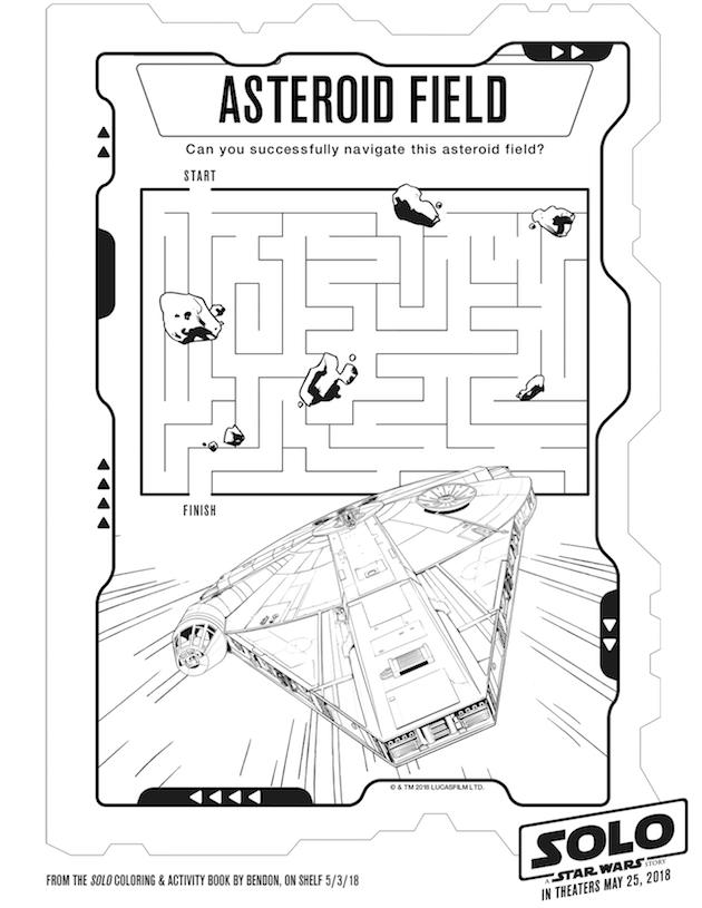 Han Solo Maze
