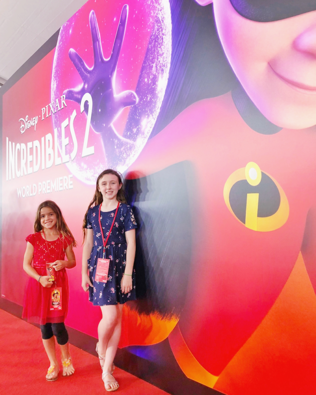 Incredibles 2 Red Carpet Premiere