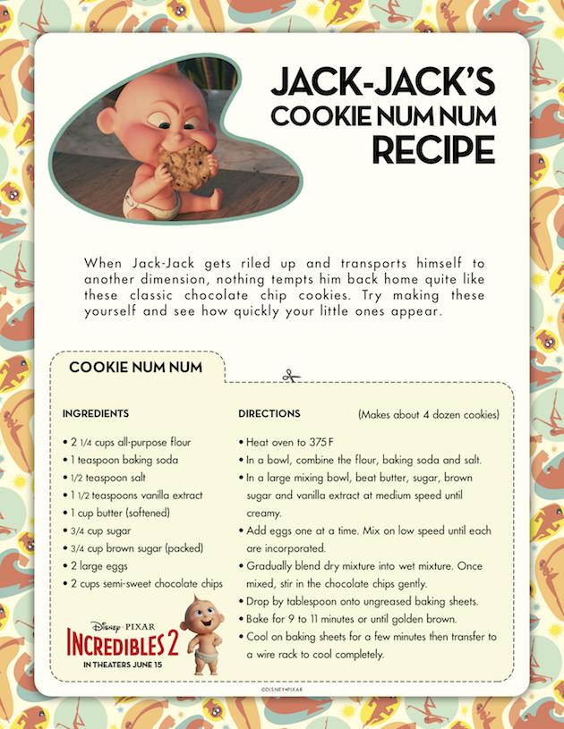 Jack Jacks Cookie Num Num Recipe