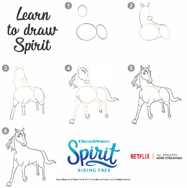 How to Draw Horse - Spirit