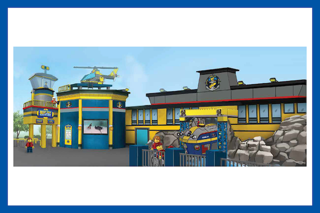 LEGO City Deep Sea Adventure Ride Rendering
