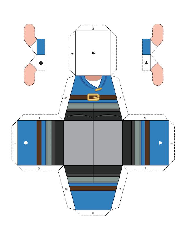 Papercraft Gnomeo 2