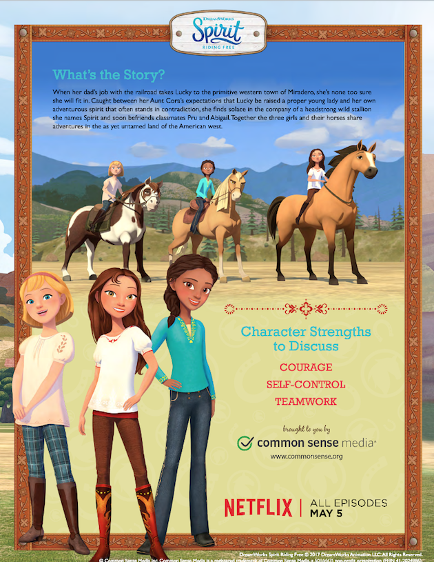 Spirit Riding Free Discussion Guide 3
