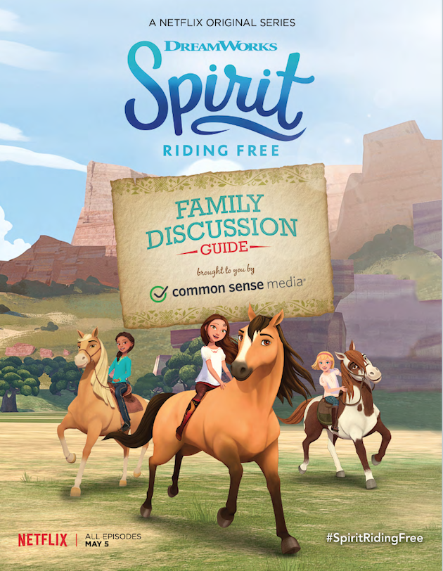 Spirit Riding Free Discussion Guide