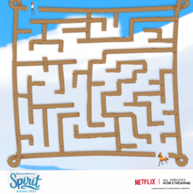 Spirit Riding Free Maze
