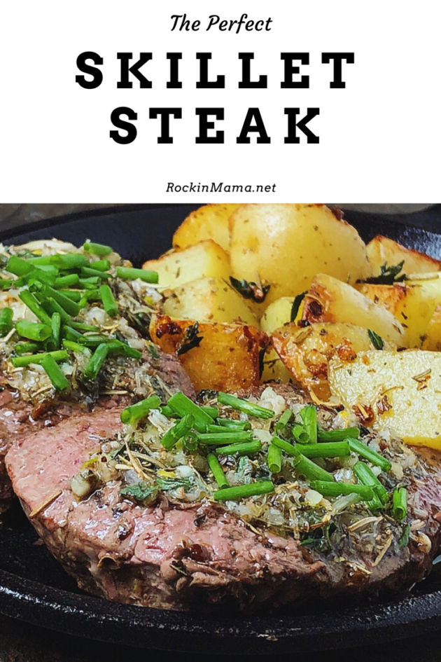 The Perfect Skillet Steak