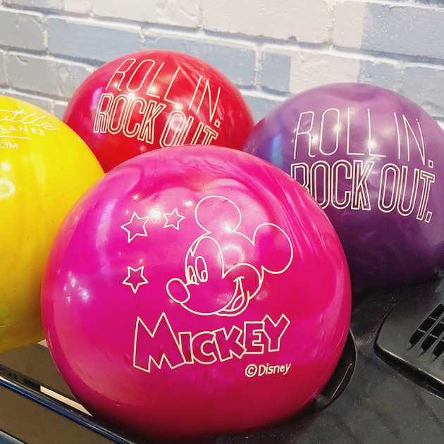 Mickey Bowling Ball