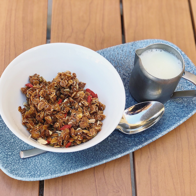 Olive Oil and Honey Granola