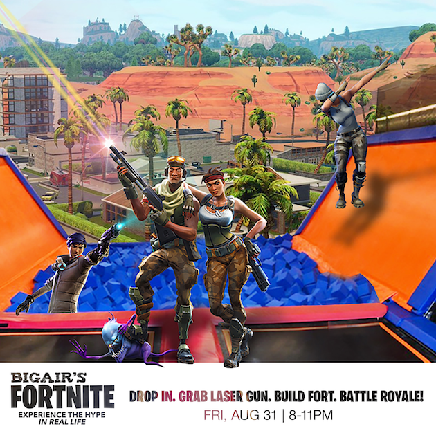Big Airs Fortnite Battle Royale