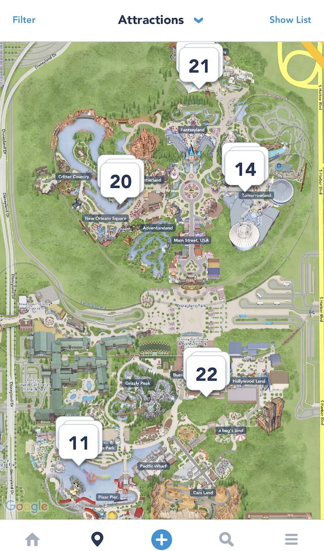 The Smarter Way to Visit Disneyland! on disney world map app, disneyland street map, six flags map app,