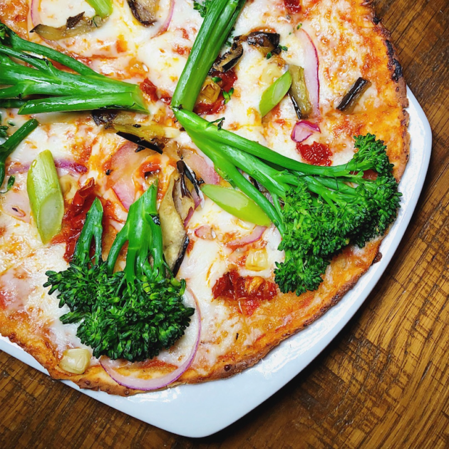 California Veggie Pizza