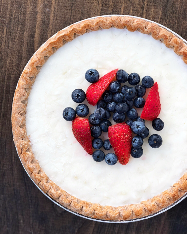 Frozen Yogurt Pie