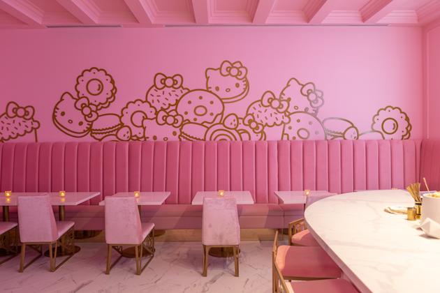 Hello Kitty Grand Cafe Irvine