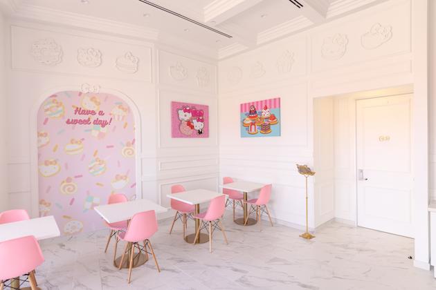 Hello Kitty Grand Cafe Irvine Spectrum