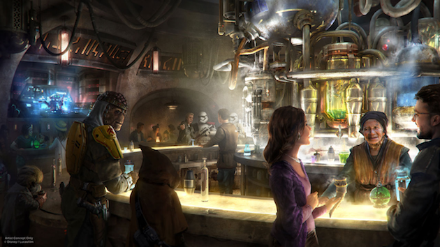 Ogas Cantina - Star Wars Galaxys Edge
