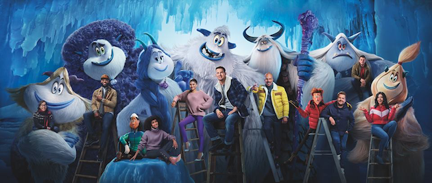 Smallfoot Cast
