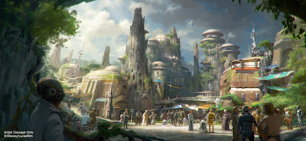 Star Wars Land Concept
