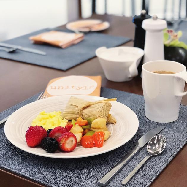 unity la breakfast buffet