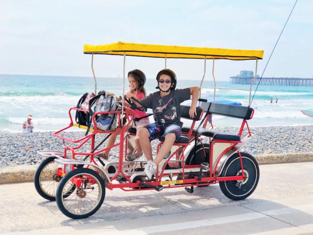 Double Surrey Bike Ride