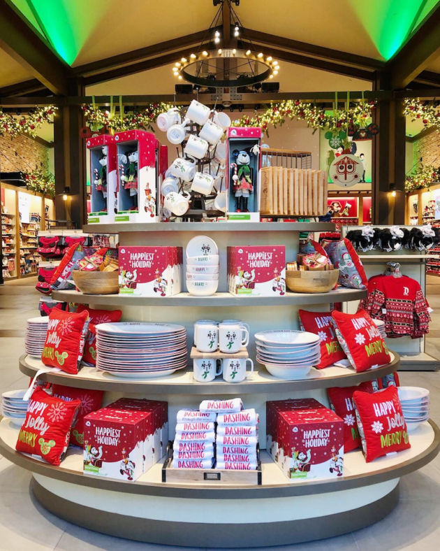 Holiday Home Merchandise at Disneyland