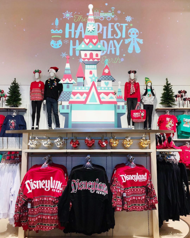 Holiday Merchandise at Disneyland