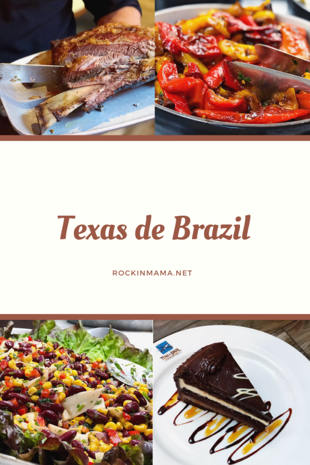 Menu Texas de Brazil