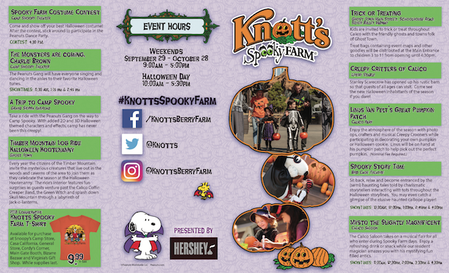 7 Things You Must Do at Knott's Spooky Farm on