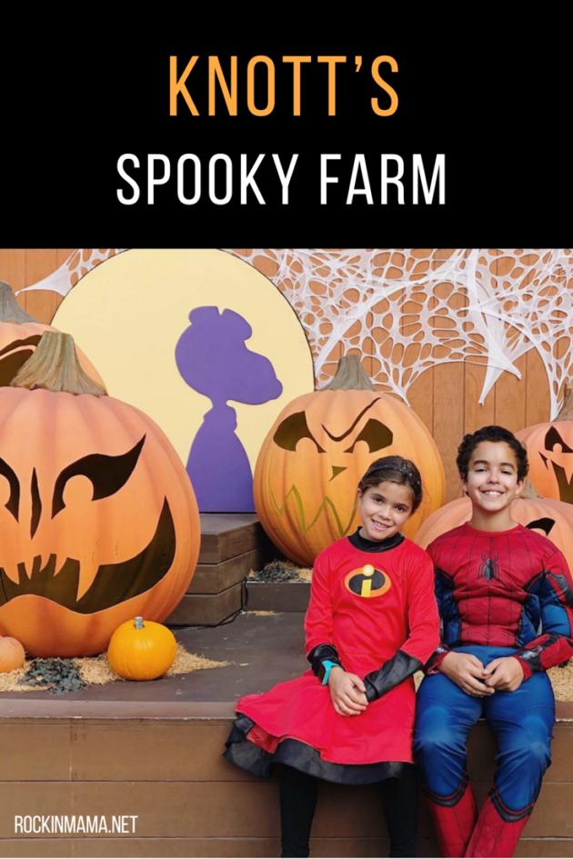 Spooky Farm at Knotts