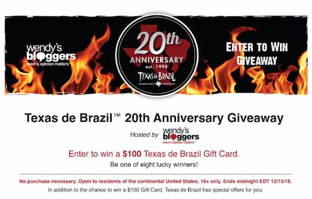 Texas de Brazil Giveaway