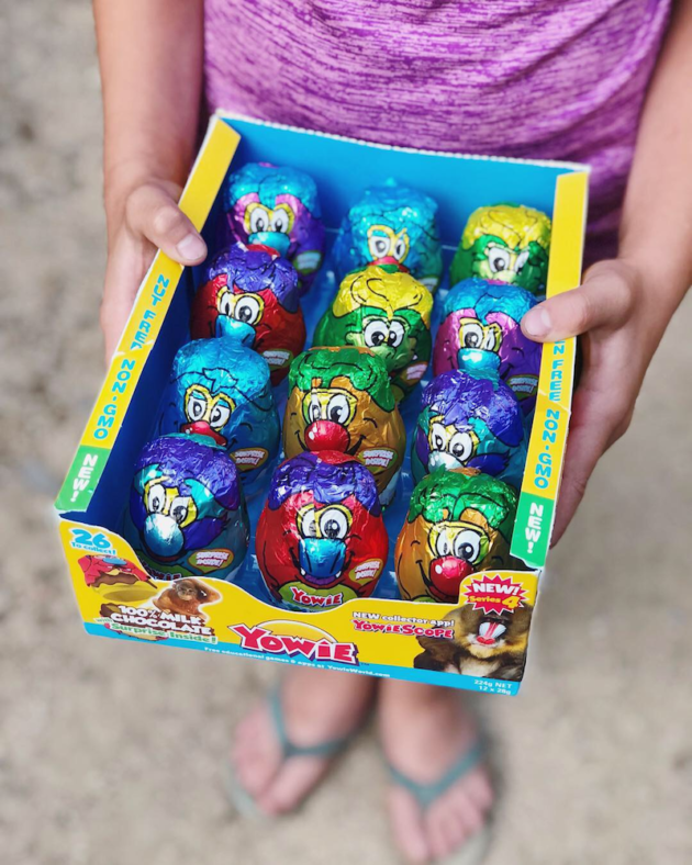 Yowie Chocolate Rescue Series