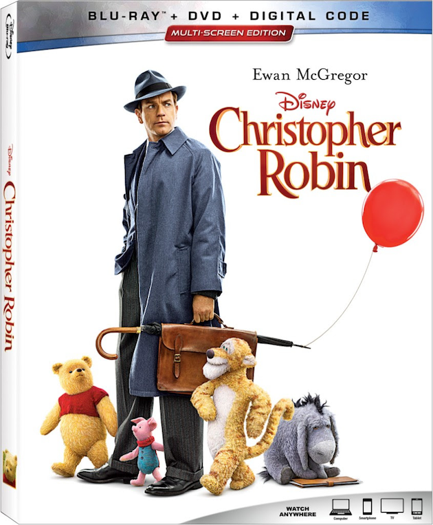 Christopher Robin Blu ray