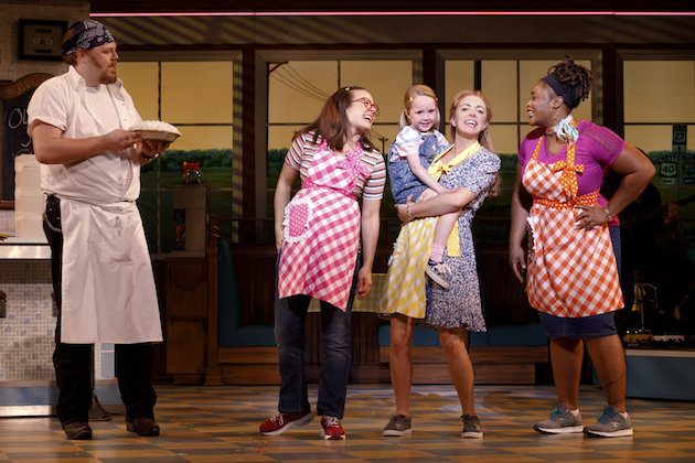 Ryan Dunkin and Cast of Waitress