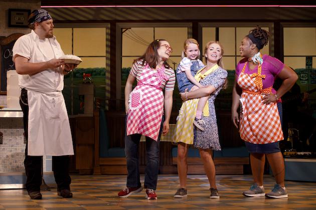 Ryan Dunkin and Cast of Waitress