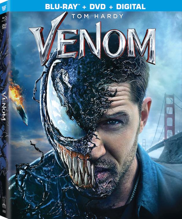 Venom on Blu-ray and DVD