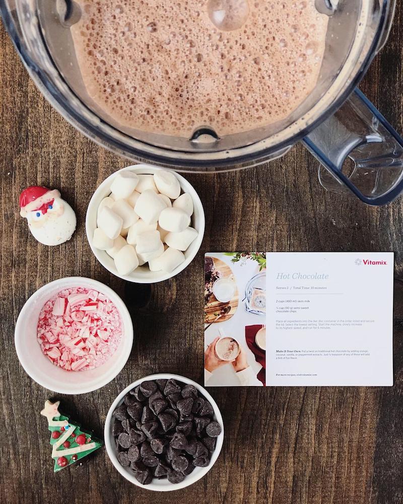 Blender Hot Chocolate