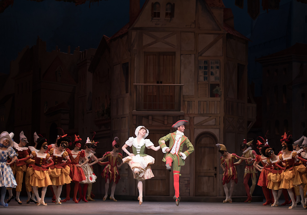 Courtney Shealy and Luis Ribagorda in Harlequinade