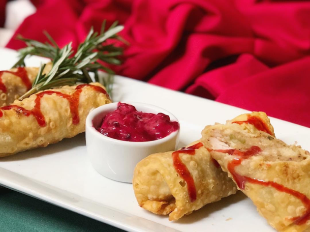 Holiday Egg Rolls
