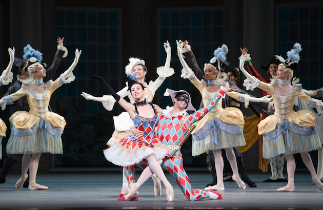 Isabella Boylston and James Whiteside in Harlequinade
